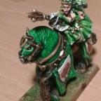 Damsel on horse