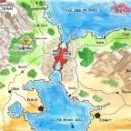 Avras region map