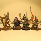RPG characters, skirmish, HeroQuest (2)