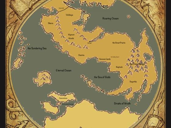 Alternate World Map