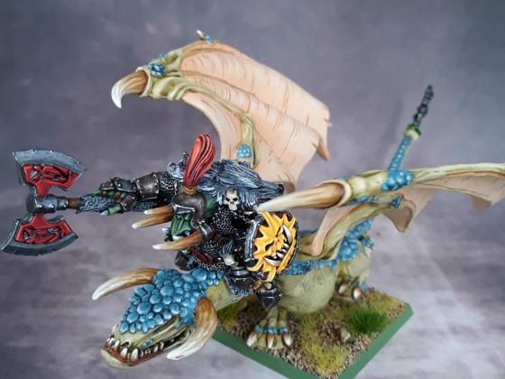 Orc Warlord  Wyvern / Kaudillo Orco en Serpiente Alada
