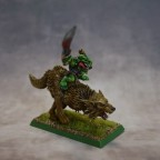 Goblin Chief on Wolf / Jefe Goblin en Lobo