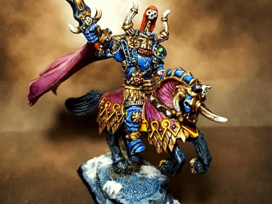 Chosen Lord on steed