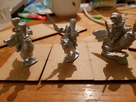 Assault Group Halfling cavalry