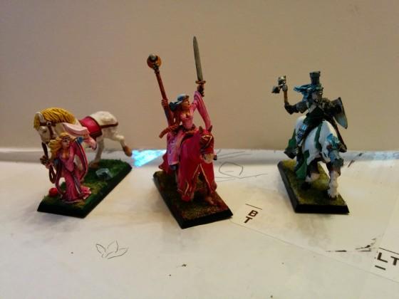 Damsels and Knight of Kroa'tia