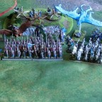 High Elves Army Full Display of Battleline
