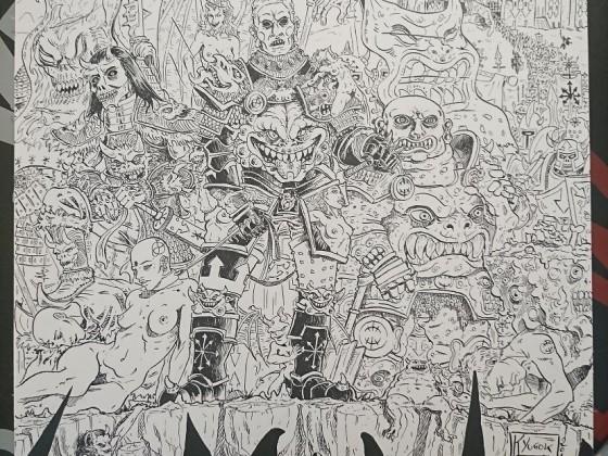 Art Contest HKYUGOK ink 2