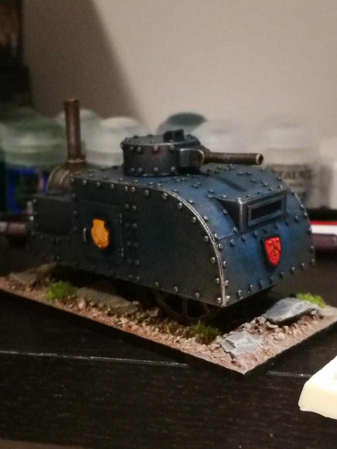 Ironclad Miniatures, Steam Tank 14