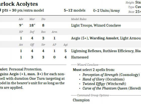 Warlock Acolytes