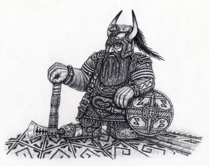 Dwarf of the Crimson Peaks