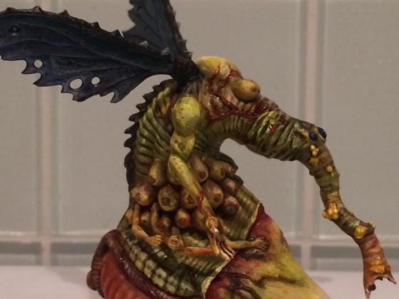 Harbinger on Fly/Daemon Prince (Pest/Lust)