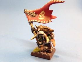Orc Boss Standard Bearer