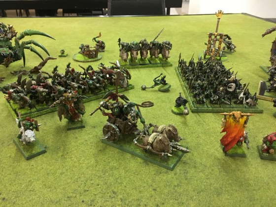 Vale Renegades League Pool 1 Round 1 -Rob Cousins OnG Army - close up