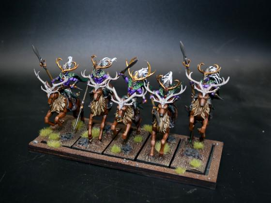 Sylvan Elves (SE) - Wild Huntsmen