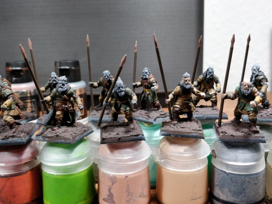 Spear Barbarians WIP