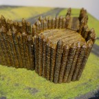 3D-printed terrain - Fort Octagon
