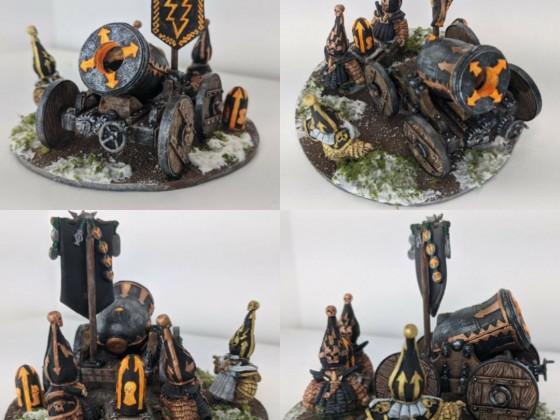 Infernal Dwarves - Titan Mortar