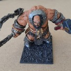Armoured Giant with Slavemaster's Whip