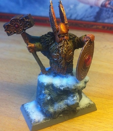 Dwarf King (Gotrung Gudmundsson of the Glittering Halls)