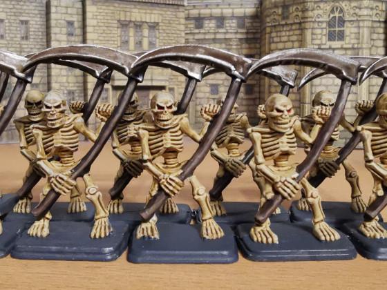 Hero Quest Skeletons