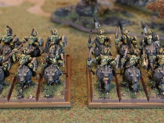 Goblin Raiders on wolves