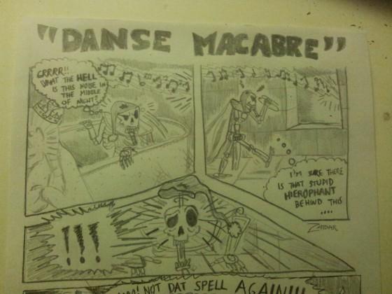 """""""Danse Macabre"""" - part 1"""