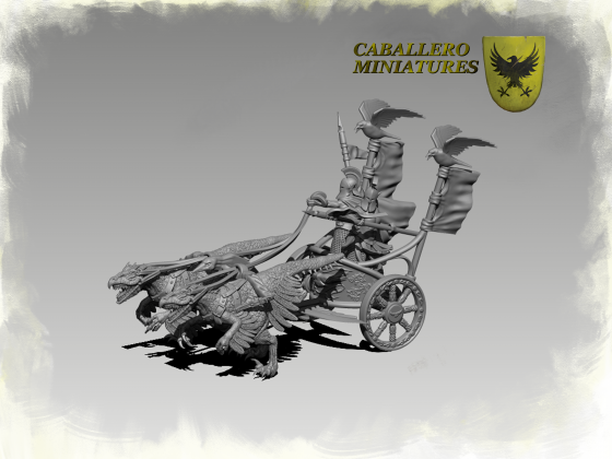 Raptor Chariot by Caballero Miniatures