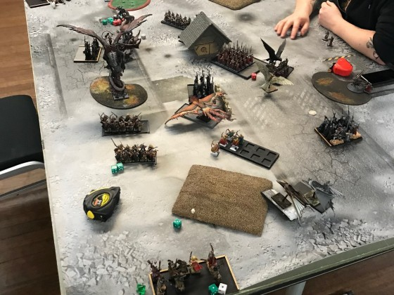 Last Stand 2018 - DE vs HE (start of DE turn 3)