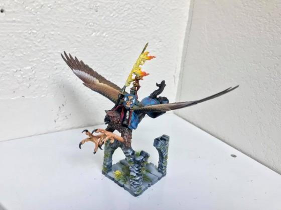 Duke on Hippogriff