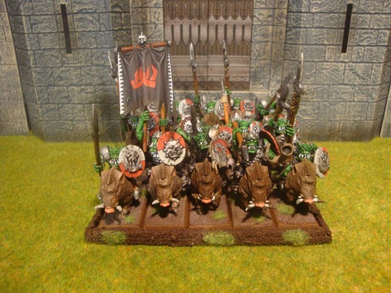 Games Workshop Orc Boar Riders