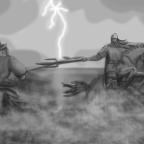 Knight Commander vs Champion of Savar, Dark God of Pride