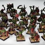 Olschool orcs with shaman