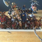 Kings Guard with BSB and Runic Master