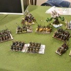 Battle Report ORcs and goblin