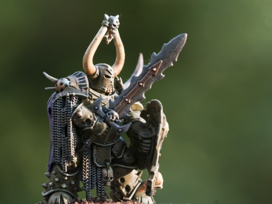 Forsaken with sword and shield