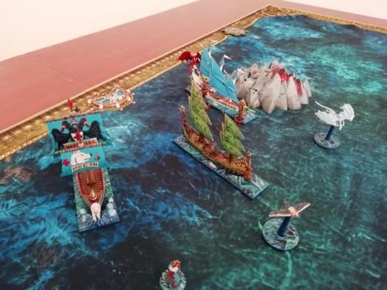 Naval battle detail 8
