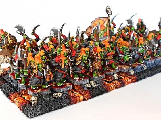 Hobgoblin warriors horde