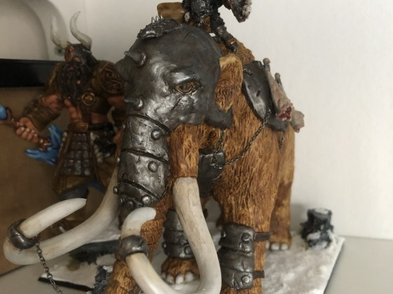 Barbarian CHief on Behemoth