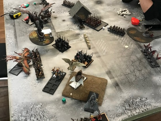 Last Stand 2018 - DE vs HE end of DE turn 2