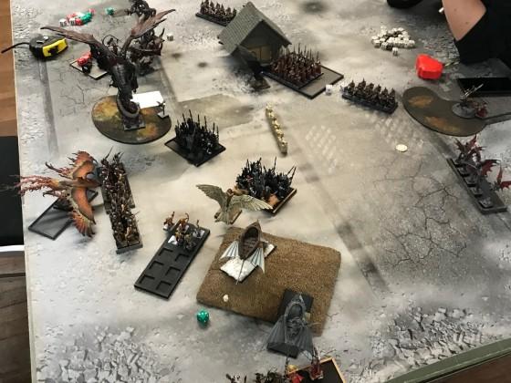 Last Stand 2018 - DE vs HE end of DE turn 2