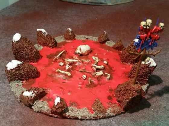 Sacrificial pit (water feature)