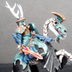 Barrow King mounted on Skeletal Steed