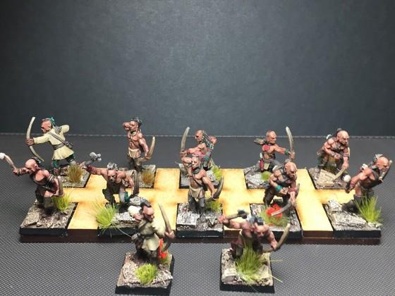 Natives as militia or rangers