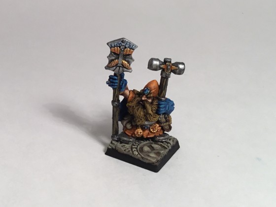 Surli Grumbleson, the clan runic smith