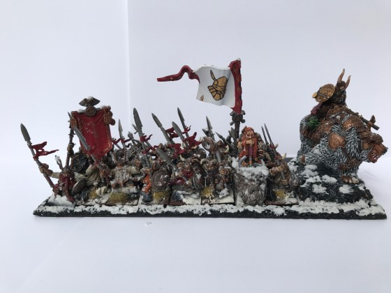 Warriors with spears