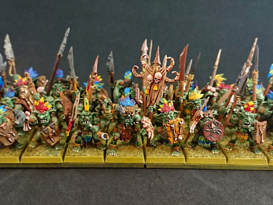 Forest Goblins by Shieldwolf Miniatures (front)