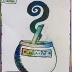 Camilia Pot
