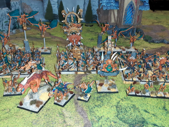 Full Saurian Ancients Army - September 2021