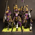 Painting League 2017 - WIP Grail Knights