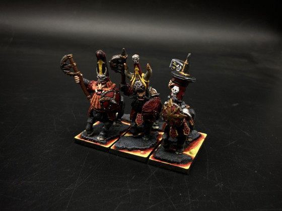 Infernal Dwarves (ID) - Taurukh Enforcers